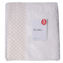 Полотенце Actuel 891700 Optical White 550 GSM, 70x140 см