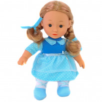 Кукла One Two Fun My Pretty Soft Doll голубая