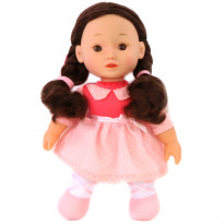 Кукла One Two Fun My Pretty Soft Doll розовая