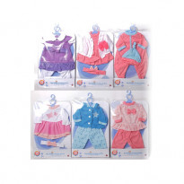Одежда для пупсов One Two Fun My Baby`s Pretty Outfit