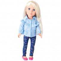Кукла One Two Fun Inextenso Love To Style Doll, в брюках и блузе, 46 см