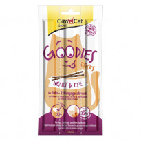 Корм для котов GimCat Goodies Sticks Heart&Eye, 3х5 г