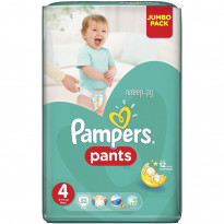 Підгузки-трусики Pampers Pants 4, 52 шт.