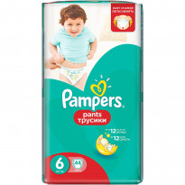 Підгузки-трусики Pampers Pants Extra large 6, 44 шт.