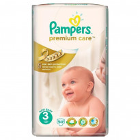 Подгузники PAMPERS «Premium Care 3» (4-9 кг; 60 шт)