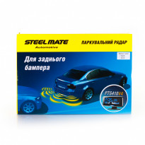 Парктроник Steelmate SM PTS410V4 black