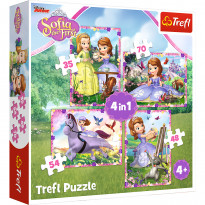 Набор пазлов Trefl Disney: Sofia The First + Frozen