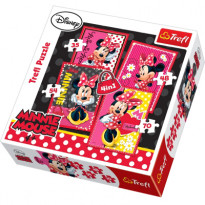 Набор пазлов Trefl Disney: Minnie Mouse + My Little Pony 4 в 1