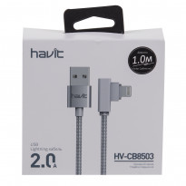 Кабель Lightning Havit HV-CB8503 угловой