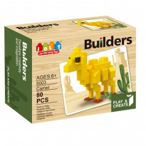 Конструктор Jun Da Long Toys Builders, 80 элементов (9003)