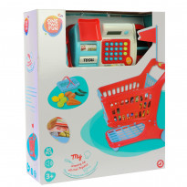Набор игрушек One Two Fun My Shopping Set With Cash Register Детский супермаркет