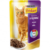 Корм для котов Purina Friskies с ягнёнком, 100 г