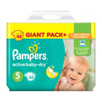 Підгузки Pampers Active Baby Dry 5, 88 шт.
