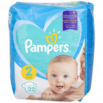 Подгузники Pampers Mini 2, 4-8 кг, 22 шт.