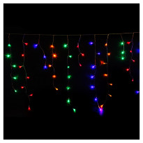 Гирлянда Actuel Flashing Curtain Штора Multicolor, 360 LED