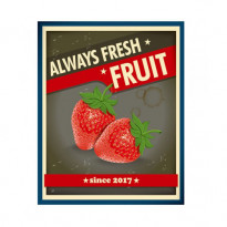 Картина Koopman Always Fresh Fruit Клубника, 40х50 см