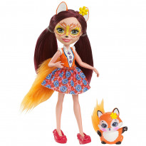 "Кукла с питомцем Mattel ""Enchantimals: Felicity Fox"""