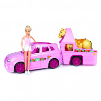 Игровой набор One Two Fun My Horse Trailer Set