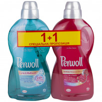 Средство для стирки Perwoll Care&Refresh, 1,8 л и Perwoll Color&Fiber 1,8 л