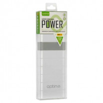 Внешний аккумулятор (Power Bank) Optima Promo Series OP-12 12000mAh White