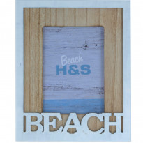 Фоторамка H&S Collection Beach DH9107070, 10х15 см, белая