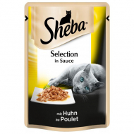 Корм для котів Sheba Selection in Sauce З куркою, в соусі, 85 г