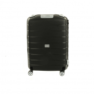 Валіза Airport Roues Medium Black, 4 колеса, 48,5x69x25,5 см