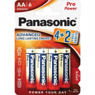 Батарейки Panasonic Pro Power LR06PPG/6BP