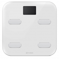 Ваги підлогові Yunmai Color Smart Scale White M1302WH електронні