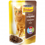 Корм для котів Friskies Purina з печінкою, 100 г
