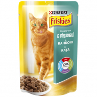Корм для котів Friskies Purina з качкою, 100 г