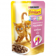 Корм для котів Friskies Purina Junior з куркою, 100 г