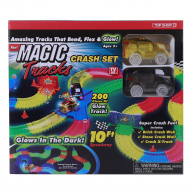 Автотрек Top Shop Magic Track Crash Set, 216 шт.