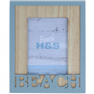 Фоторамка H&S Collection Beach DH9107070, 10х15 см, синя