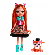 Лялька в наборі Enchantimals Tanzie Tiger and Tuft