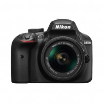 Фотоапарат Nikon D3400 AF-P 18-55mm f / 3.5-5.6G VR Kit Black