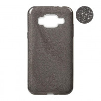 Чохол Remax Glitter Silicon Case Samsung J330 (J3-2017) Black
