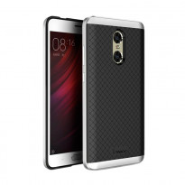 Чохол-накладка iPaky (OR) Carbon TPU + Bumper for Xiaomi Redmi Note 5a Prime Silver