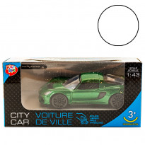 Машинка One Two Fun City Car, 1:43, біла