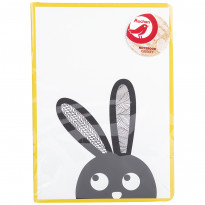 Записник Auchan Graphic Rabbit (Кріль) A5