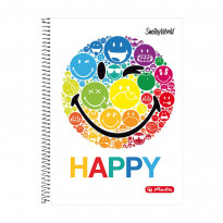 Блокнот Herlitz Smiley World Rainbow А4, 70 аркушів