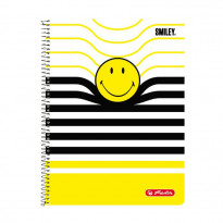 Блокнот Herlitz Smiley World Black & Yellow А4, 70 аркушів