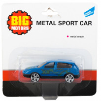 Машинка Big Motors Sport Car (7 см)