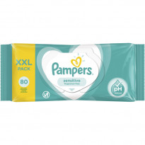 Серветки Pampers Sensitive, 80 шт.
