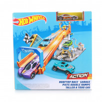 Автотрек Hot Wheels Гараж на даху