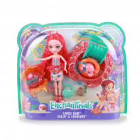 Лялька в наборі Enchantimals Dolce Cameo Crab